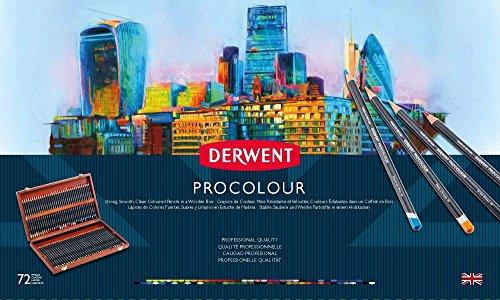 ダーウェント プロカラー色鉛筆 72色セット 木箱入