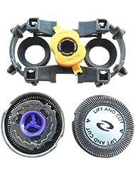 Hzjundasi 置換 シェーバー 頭 刃/キャリーバッグ/フォイル カッター HQ56 for Philips PQ210 PQ216