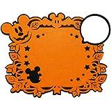 ディズニー ミッキー フェルトマット & コースターセット ホームデコレーション用小物 W40×H31cm 95169
