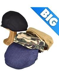 ノーブランド品 BIGSIZEスタンダードハンチング ヤング帽子