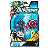 アベンジャーズ(ムービー 2012)3.75インチ アクションフィギュア/01 コミック/スーパー・シールド キャプテン・アメリカ