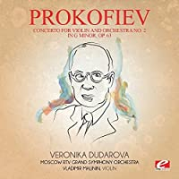Concerto for Violin and Orchestra No. 2 in G Minor, Op. 63 by Sergei Prokofiev
