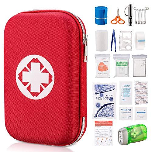 KLM 救急セット 応急処置セット 非常時用 携帯用救急箱 18種類のセット