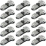 WMYCONGCONG 15 PCS 1 Pin 1 Way Low Voltage Wire Connector Universal Compact Wire T Type Connectors No Wire-Stripping Required