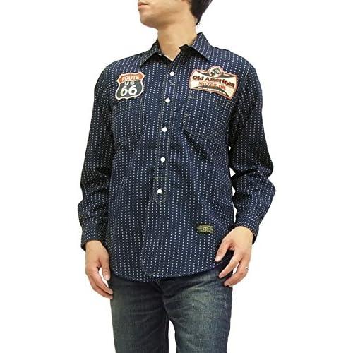 (トイズマッコイ) TOYS McCOY ワークシャツ TMS1523 星型ウォバッシュ 長袖シャツ (16(メンズLサイズ))