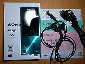 SONY ウォークマン A20シリーズ  16GB ハイレゾ音源対応 2015年モデル ビリジアンブルー NW-A25 LM
