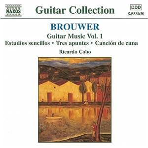 ブローウェル:ギター音楽作品集 1