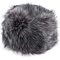 Lovoski Fluffy Cossack Hats Faux Hats Luxury Premium Winter Russian Hat For Women Lady Girls