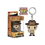 Amazon.co.jpリック·グライムズザ·デッドポケットPOPをウォーキング!キーホルダー  Rick Grimes The Walking Dead Pocket POP! Keychain