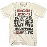 ロックの殿堂入り記念 BON JOVI ボン・ジョヴィ - DEAD OR ALIVE / Tシャツ / メンズ 【公式 / オフィシャル】
