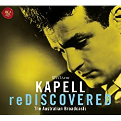 カペル独奏 Williem Kapell Rediscovered The Australian Broadcastsの商品写真