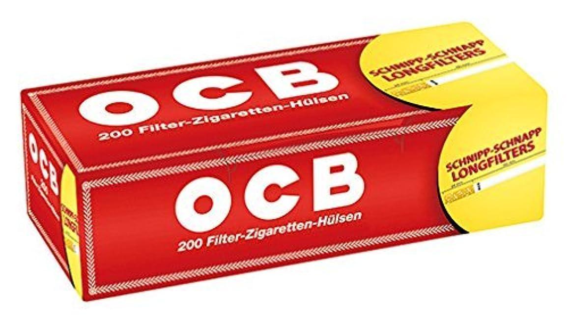 大宇宙再生矢柘製作所(tsuge) OCB ロングレギュラーチューブ #78879 ×3個パック 手巻きタバコ MYO