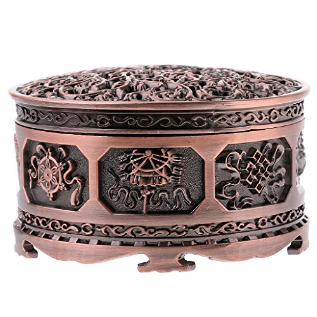カウンタカレッジ余裕があるミニ チベット 香炉 香りバーナー 金属 工芸品 家 装飾 全3色 - 浓いかっしょく