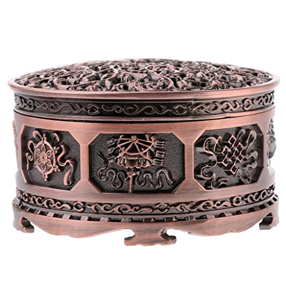 義務付けられた完全に相反するFenteer チベット 合金 香りバーナー 煙 コーン 香炉 金属 アロマストーブ ホーム 装飾 全3色 - 浓いかっしょく