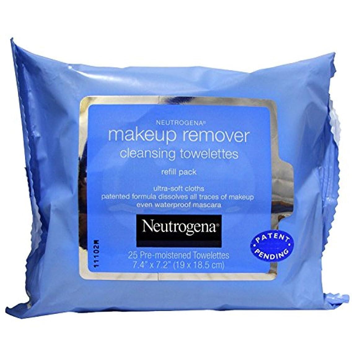 正気以来忌まわしいNEUTROGENA Makeup Remover Cleansing Towelettes Refill Pack - 25 Count - 25 Towelettes