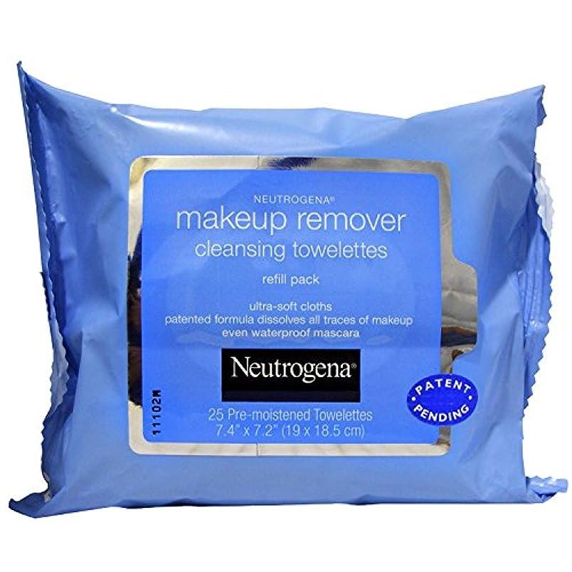 健康的発生器脇にNEUTROGENA Makeup Remover Cleansing Towelettes Refill Pack - 25 Count - 25 Towelettes