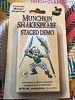 Steve Jackson Games SJG04259 Munchkin Shakespeare Staged Demo Board Game