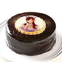 写真ケーキ ザッハトルテ チョコレートケーキ 4号 12cm