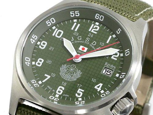 [ケンテックス] KENTEX 腕時計 陸上 自衛隊 JGSDF モデル S455M-01 メンズ