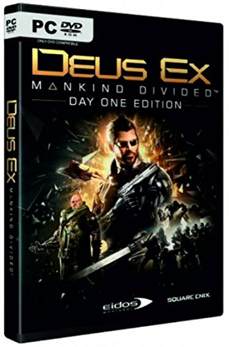 Deus Ex: Mankind Divided - Day One Edition (PC DVD) (輸入版)