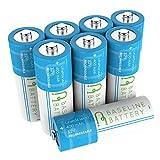 8?IFR 14430?3.2?V lifepo4リン酸リチウム充電式電池400?mAhソーラーガーデンライトベースラインバッテリー