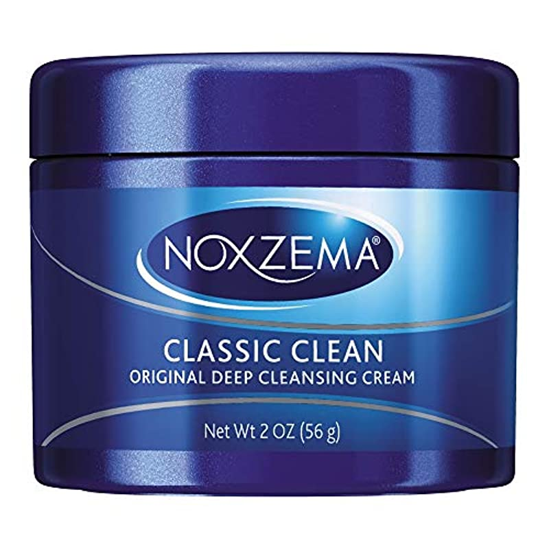 すみません拡散する故意にNoxzema オリジナルディープクレンジングクリーム2オンス(10パック)