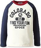 crocs ボーイズ サンダル (クロックス)CROCS ラグラン切替ロングTシャツ