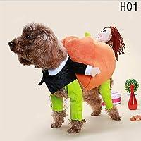 ペット服  ワンチャン  コスプレ  猫用 かぼちゃ  ハロウィン 出掛け  散歩 可愛い 犬用コスチューム 仮装  ペット服  小型犬  中型犬