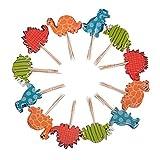 eZAKKA ケーキトッパー  カップケーキトッパー  ケーキ飾り ケーキスティック クラウン 装飾用品 紙製 挿しくじ 誕生日  ウェディング パーティー メリークリスマス