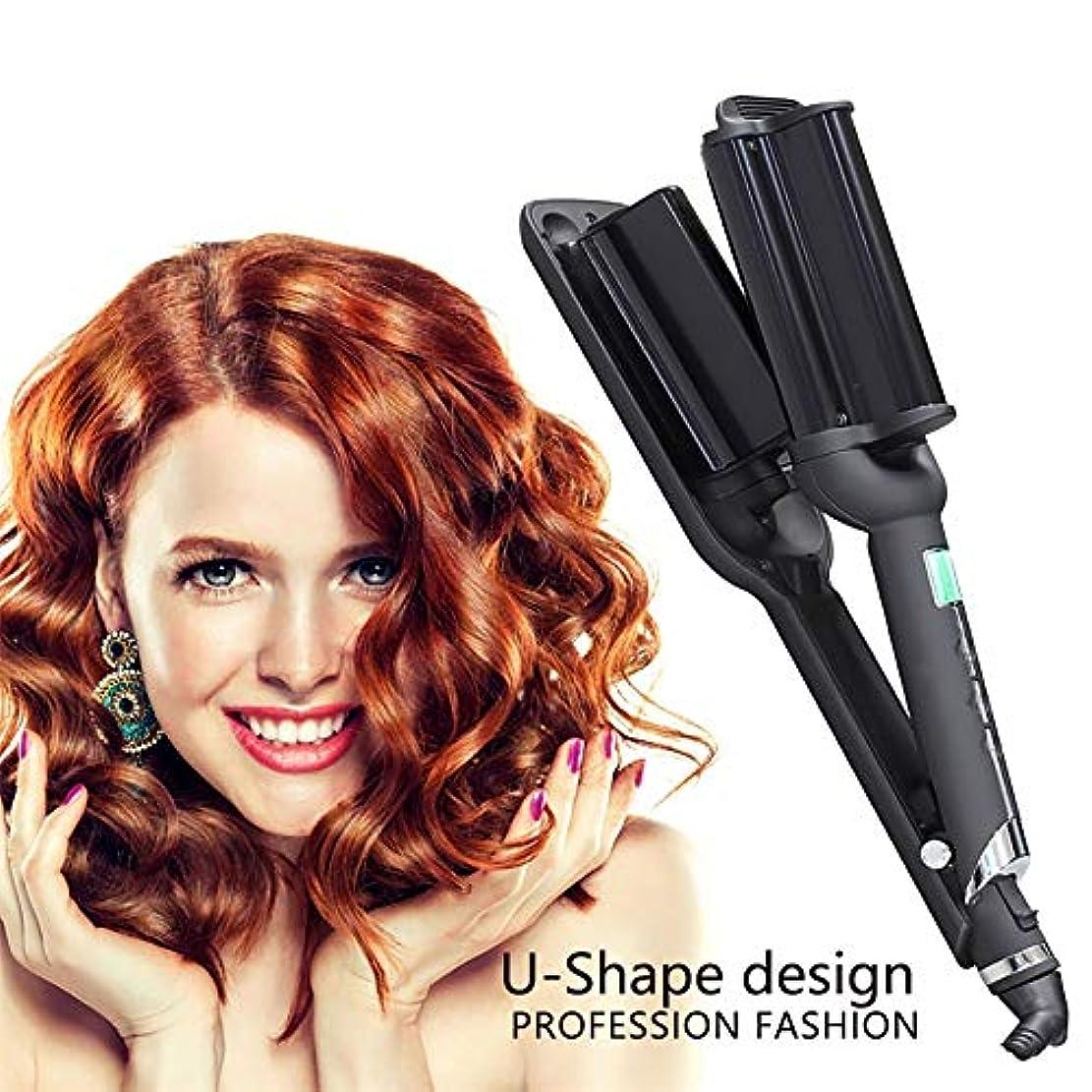 容疑者体細胞剃る職業スプレーヘアカーラー、液晶全自動セラミックス理髪ツール、マルチスタイラーロングショートウェットドライヘア用髪にダメージなし