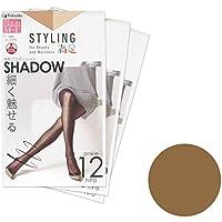 (フクスケ) 福助 (スタイリング満足) Styling満足 Shadow ストッキング 3足セット 143-2611