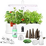 Dr Goodrow Hydroponics Growing System - 10 Pods Grow Tent Kit with LED Grow Light | Indoor Gardening Kit for Smart Home | Hyd