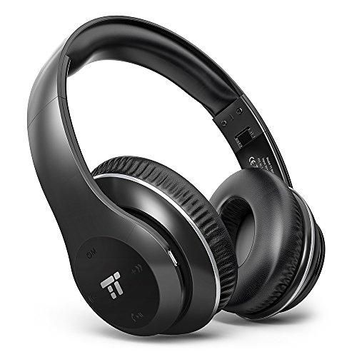 TaoTronics 密閉型 Bluetooth ヘッドホン ...