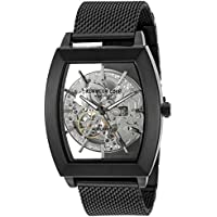 Kenneth Cole New York Men's ' Japanese Automatic Stainless Steel Dress Watch, Color:Black (Model: 10031270)