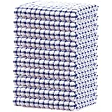 KNIGHTSPED Terry Cotton Small Kitchen Dish Cloth, Absorbent,Durable, Shrink Resistant and Quick Drying Cleaning Dish Rags, 15
