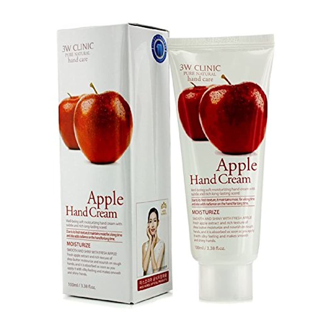 ふざけたマスタード再び3Wクリニック Hand Cream - Apple 100ml/3.38oz並行輸入品