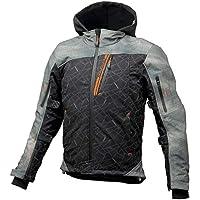 コミネ(KOMINE) JK-590 プロテクトソフトシェルウインターパーカ ジャケット Smoke-Black/WS Protect Softshell Winter Parka 07-590