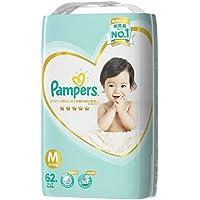 パンパース オムツ テープ はじめての肌へのいちばん M(6~11kg) 62枚