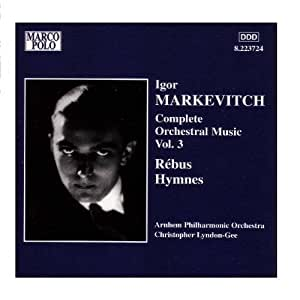 Makevitch;Cpte.Orch.Works 3