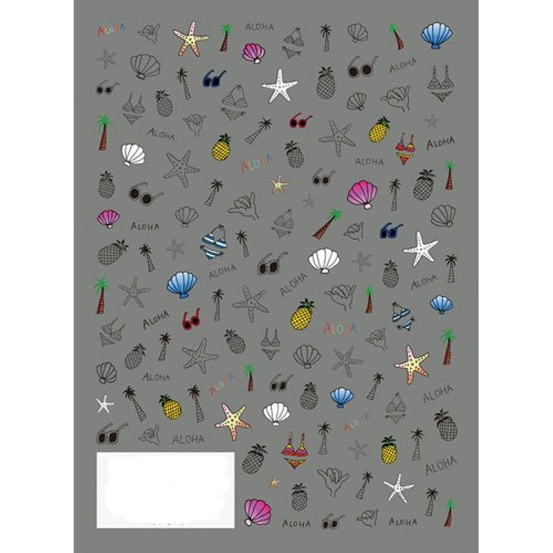 レディ障害おもちゃツメキラ(TSUMEKIRA) ネイル用シール ポップビーチ NN-PRD-702
