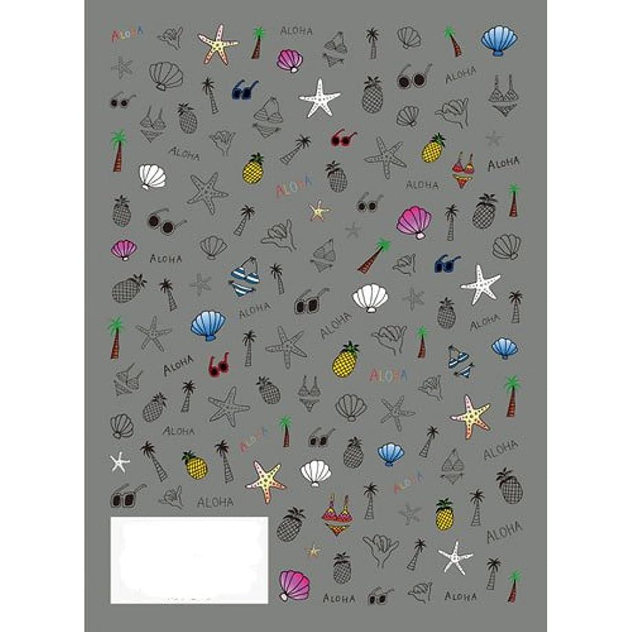 著者ヨーグルトウィスキーツメキラ(TSUMEKIRA) ネイル用シール ポップビーチ NN-PRD-702