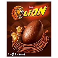 Lion Bar Retro Large Easter Egg 280g イースターエッグ