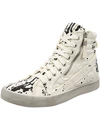 (ディーゼル) DIESEL メンズ ペイントデザイン スニーカー D-VELOWS D-STRING PLUS - sneaker mid Y01639P1645