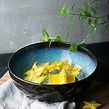 セラミックボールラーメンボウル - ヨーロッパスタイルクリエイティブクリエイティブセラミック食器フルーツサラダラーメンスープ大ボウル