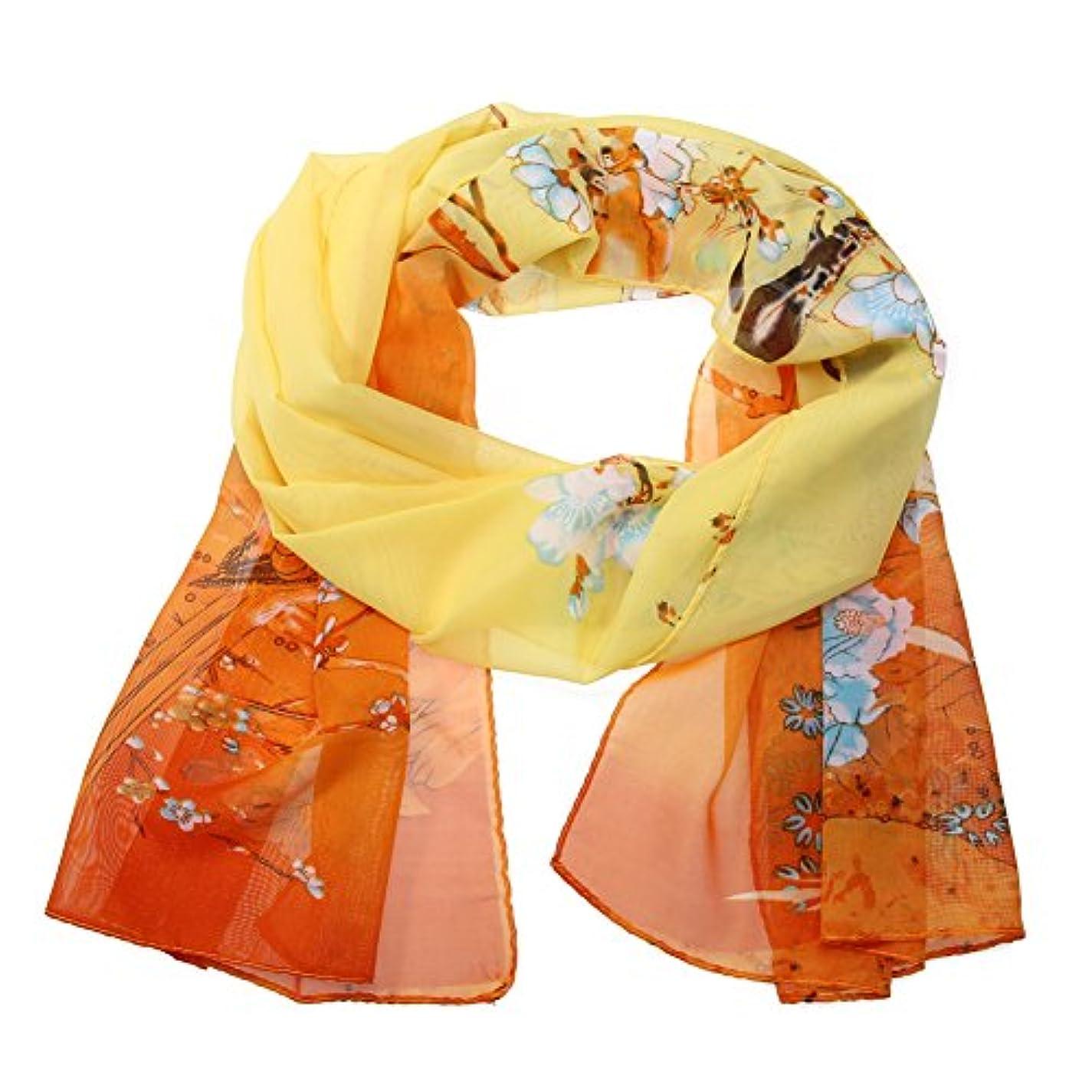 キネマティクス指紋知覚スカーフ レディース シルク 髪飾り バッグ飾り 持ち手 小物 アクセサリー 制服用 通勤 50 * 160cm パーティー用 服に組み合わせ易い 13色
