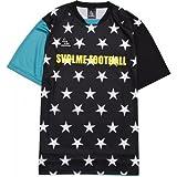 SVOLME(スボルメ)星柄プラシャツ サッカー フットサル トレーニングウェア 半袖Tシャツ ブラック 161-67700 BLACK L