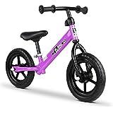 Rigo 12 Inch Kids Balance Bike - Purple