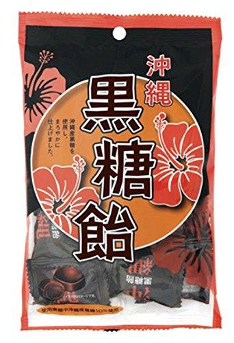 日本橋菓房 沖縄黒糖飴 袋120g