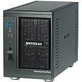 NETGEAR ReadyNAS Duo 2スロット デスクトップ型NAS ベアボーン RND2000-100JPS (3年保証)