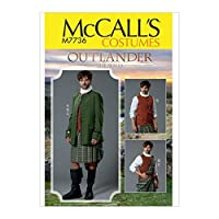 McCall's Patterns M7736 MQQ Men's Costume for Outlander: The Series SEWING PATTERN Size 46-52 [並行輸入品]